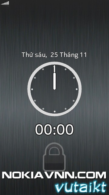 Nokia Lock Screen