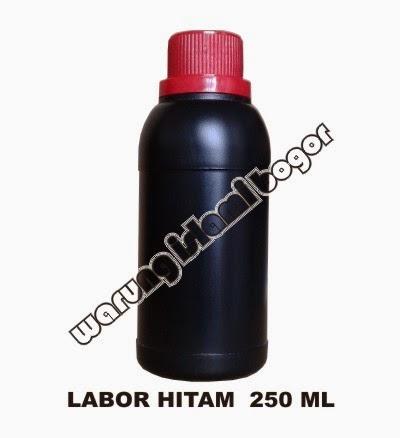 Jual Botol HDPE Agro Labor Hitam 250ml