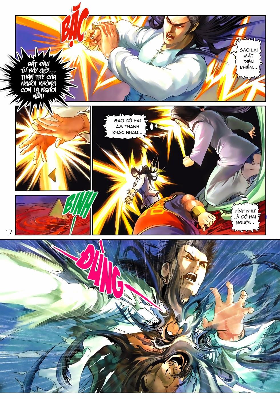 Thần Binh Tiền Truyện 4 - Huyền Thiên Tà Đế chap 10 - Trang 17