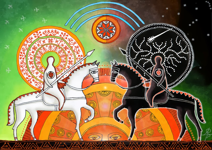день и ночь в славянской мифологии