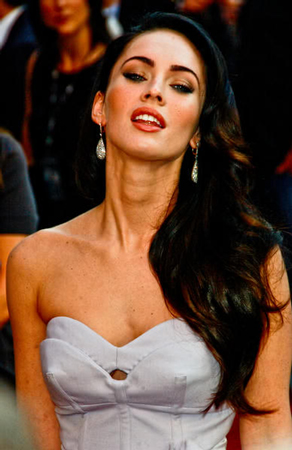 Celebrity Hairstyle Megan Fox Long Style Haircuts Very Nice