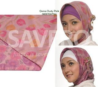 Cara Memakai Jilbab Yang Trendy
