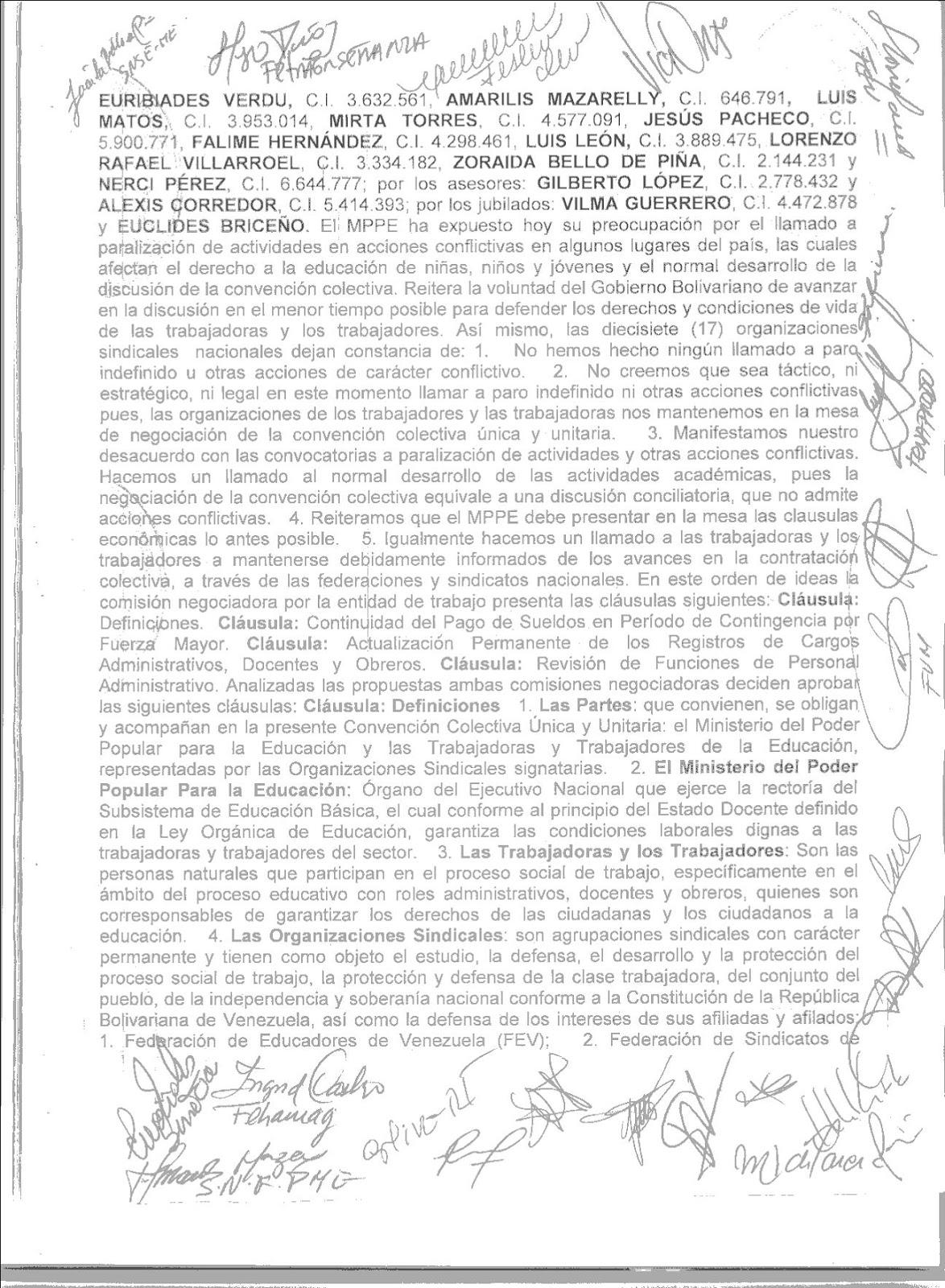 Contrato Unificado Del Mppe
