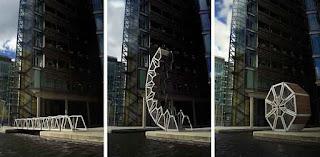 Rolling Bridge, London