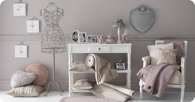 Pareti Rosa Antico : Boiserie c rosa cipria e azzurro polvere