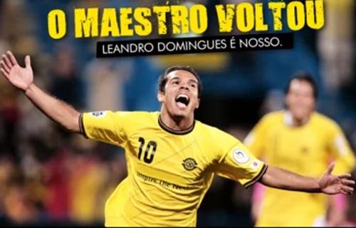 Vitória confirma retorno de Leandro Domingues