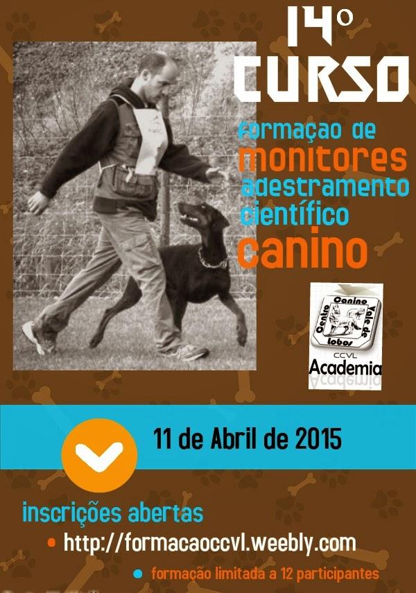 14º Curso de Formação de Monitores de Adestramento Científico Canino