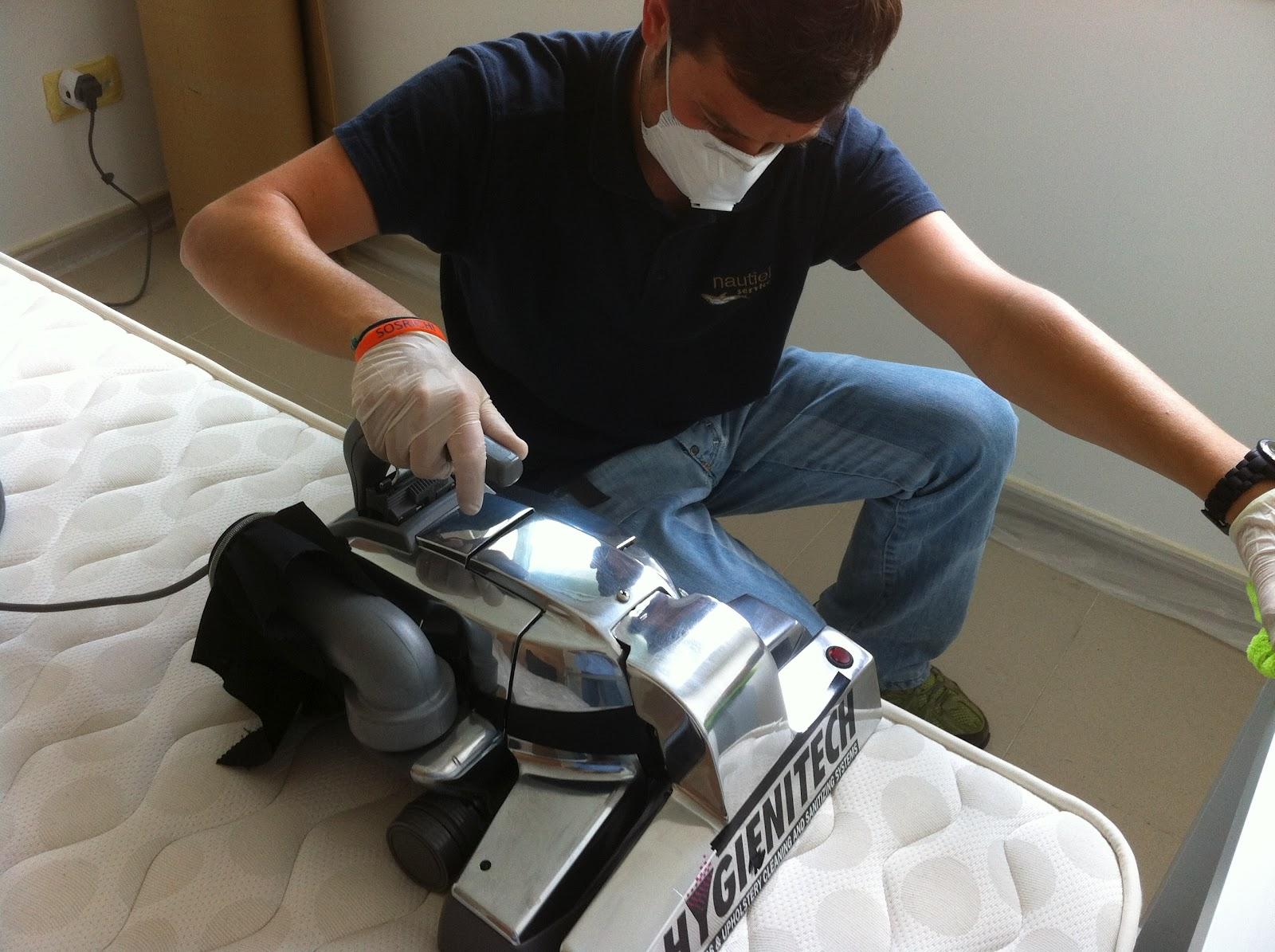 Higiene total en casa htec limpieza de colch n - Eliminar acaros colchon ...