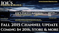Fall 2015 Channel Update: YouTube Policy Changes, Coming In 2016 & More | Joe's Videos & Blogs