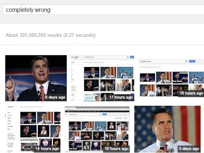 "Romney and the ""completely wrong""; images and searches"