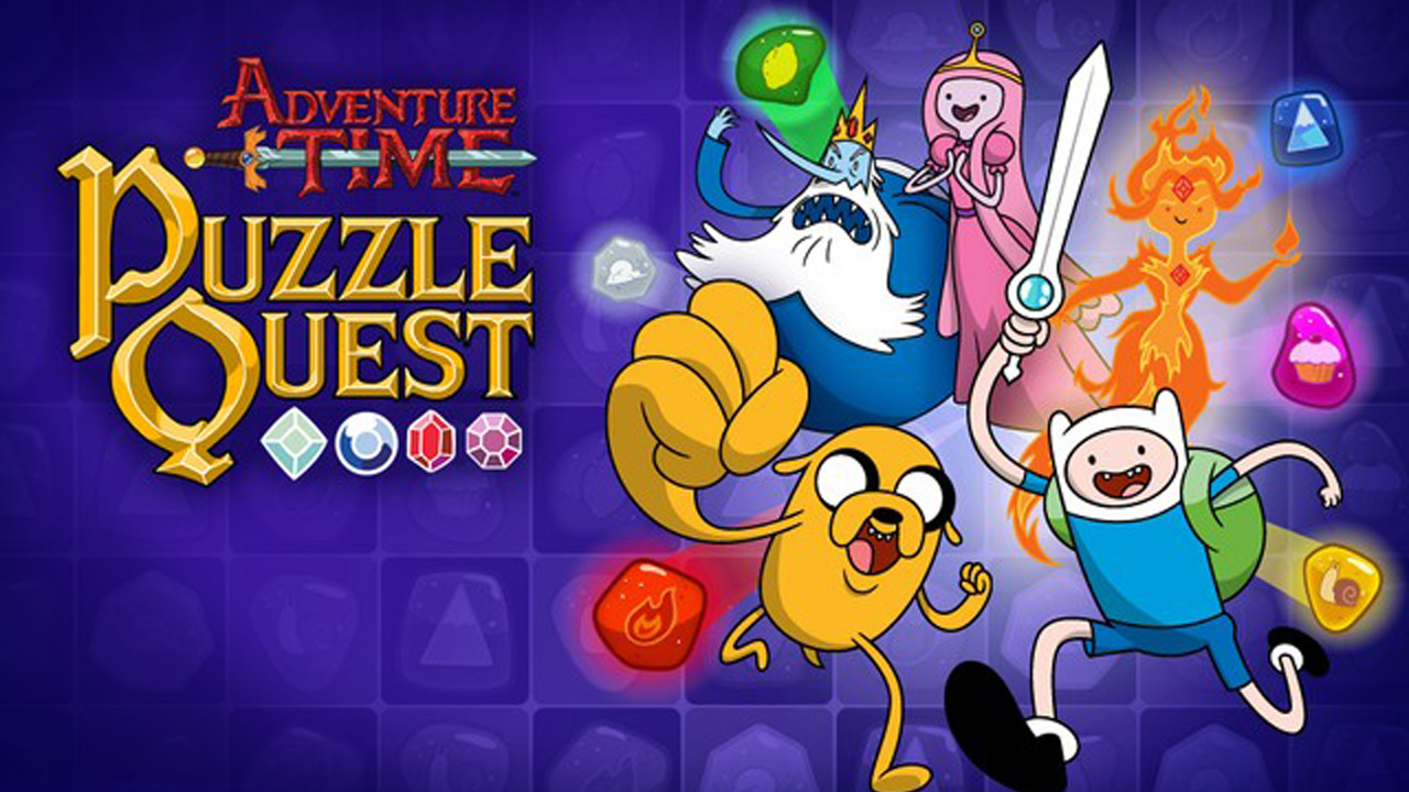 Adventure Time Puzzle Quest Gameplay IOS / Android