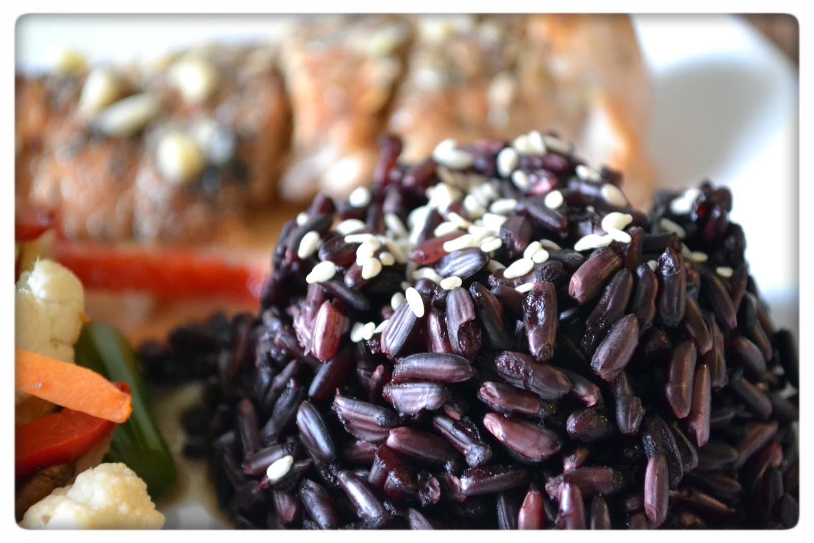 svart ris näringsinnehåll