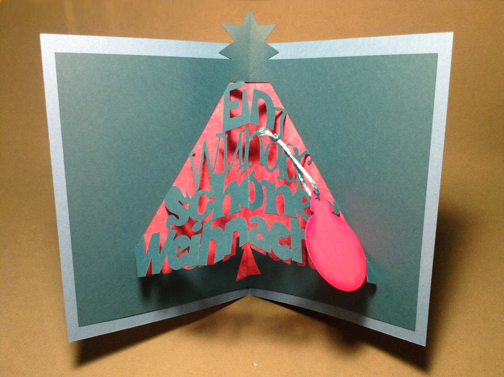 papierscherestoff pop up weihnachtskarte. Black Bedroom Furniture Sets. Home Design Ideas