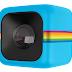 Kubusvormige actiecamera van Polaroid