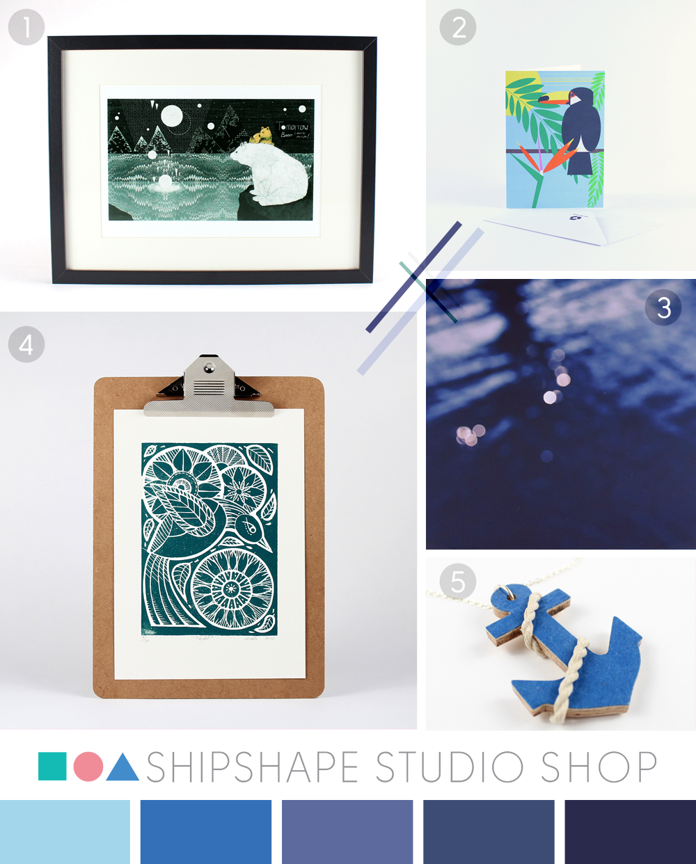 In the Shipshape Studio shop blues