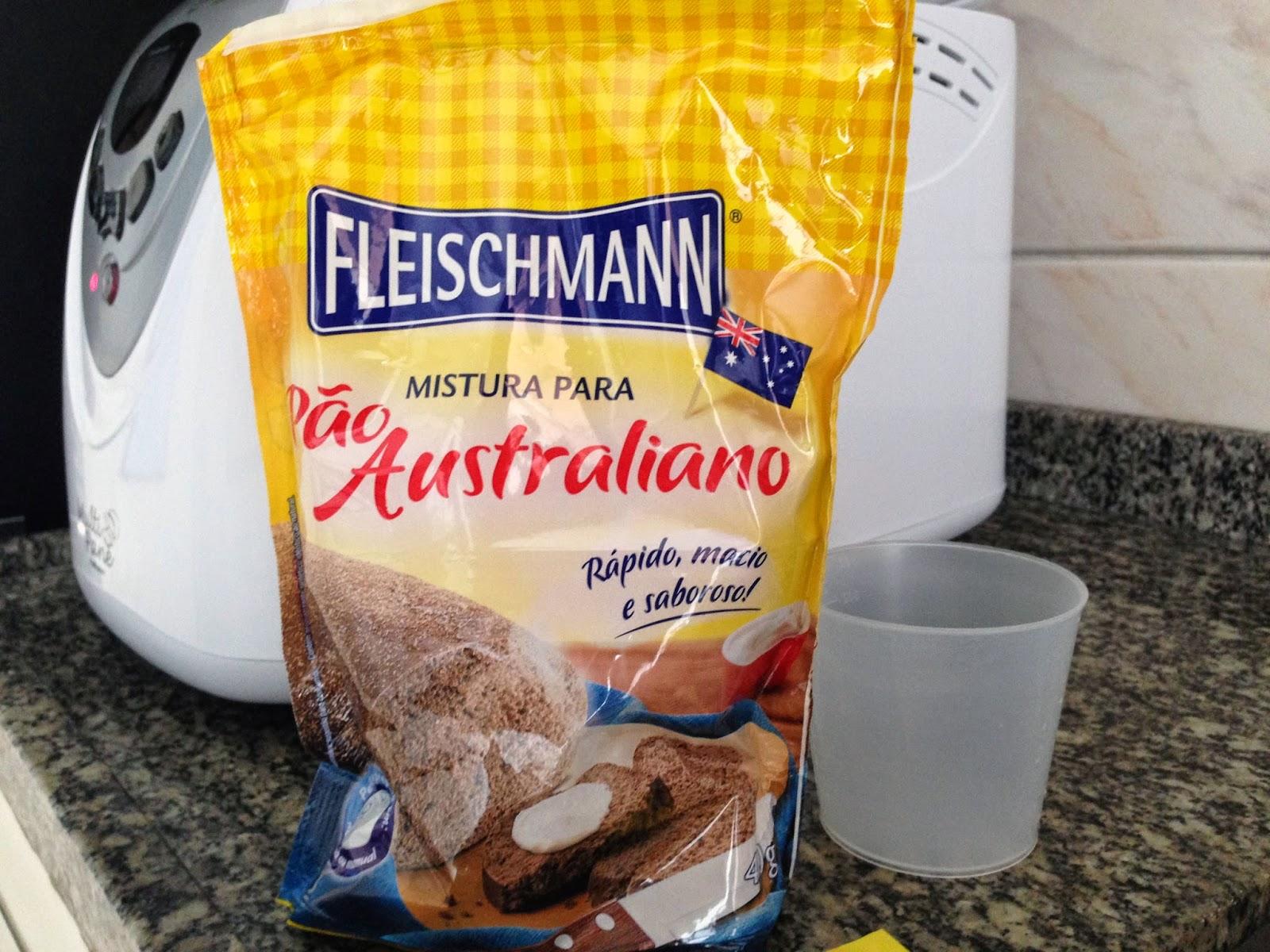 Mistura para Pão Australiano Fleshiman [máquina de fazer pão]
