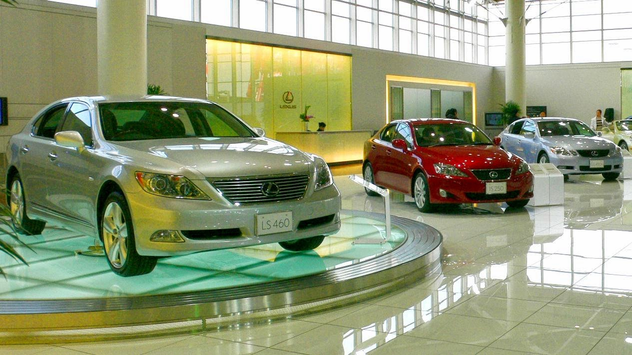 Lexus models produced by the Tahara plant in Aichi, Japan