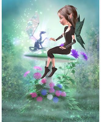 El hada y el dragón - Una amistad fantástica - Fairies