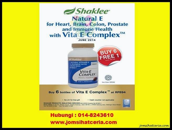 Promosi, Vita-E, Pengedar Shaklee Kuantan,