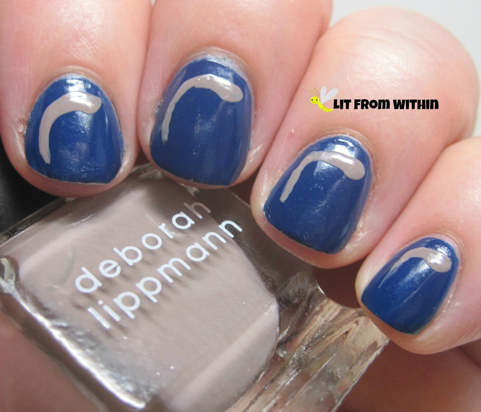 Deborah Lippmann Putty In Your Hands, a gorgeous nudish-taupe
