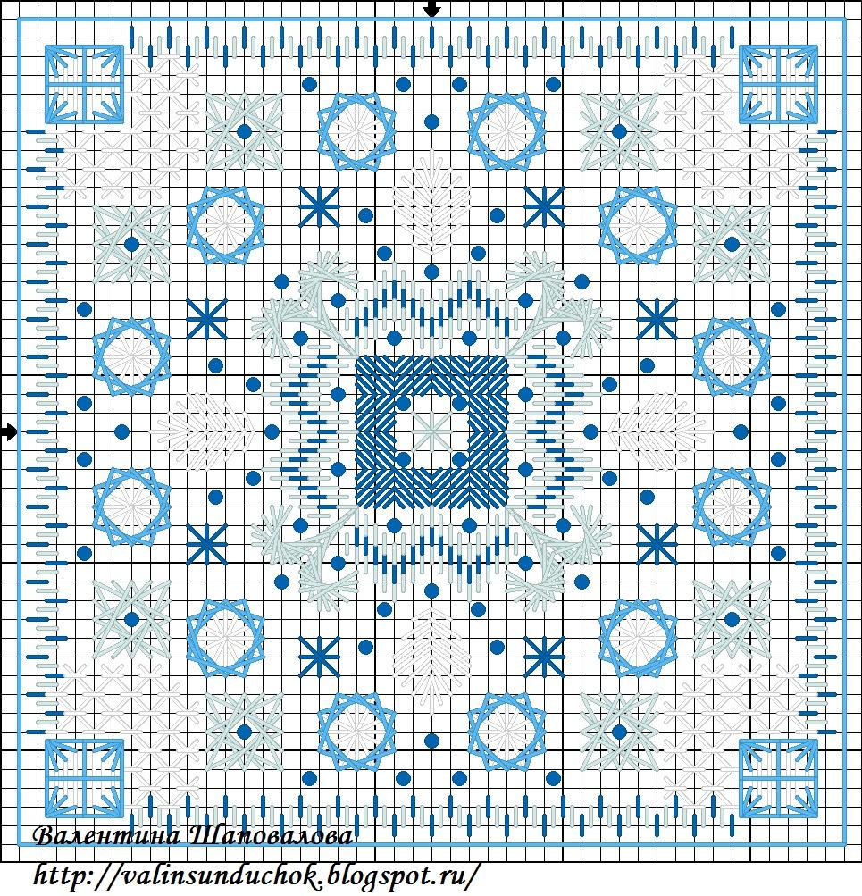 Схема для вышивки шовчиковая 723