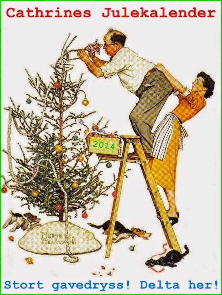 "Julekalender hos ""Cathrines kreative hjørne"""