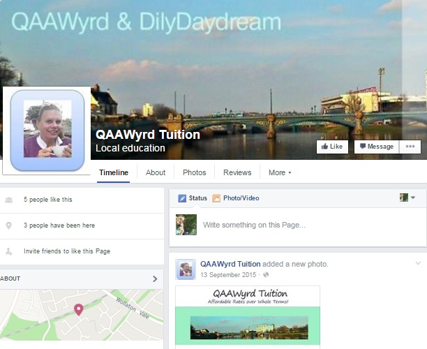 QAAWyrd Tuition Facebook
