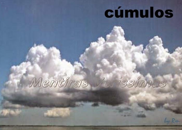 Nuvens cúmulos (Cu) - baixas e de desenvolvimento vertical - cumuliformes