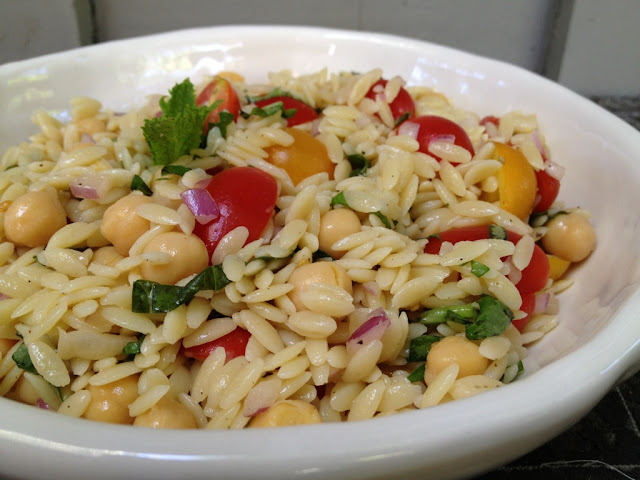 Recipe: Orzo pasta salad
