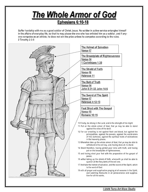 The Whole Armor of God - Ephesians 6:10-18
