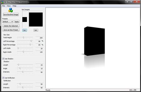 Free eCover Software   3D Box Shot Maker