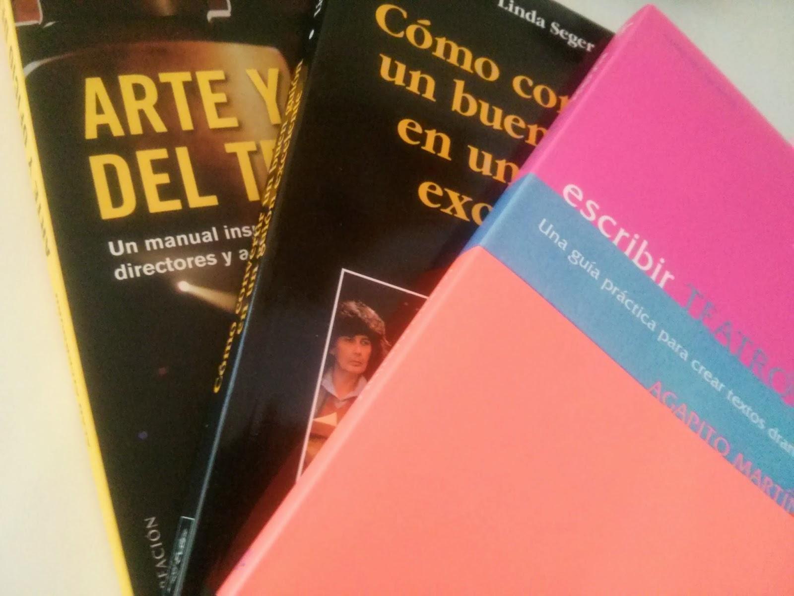 Libros sobre teatro