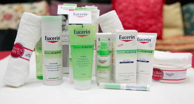 Eucerin Walk the Talk of Skin Science, launch, event, 1 utama, let's talk skin science, eucerin, Eucerin DermoPURIFYER skincare