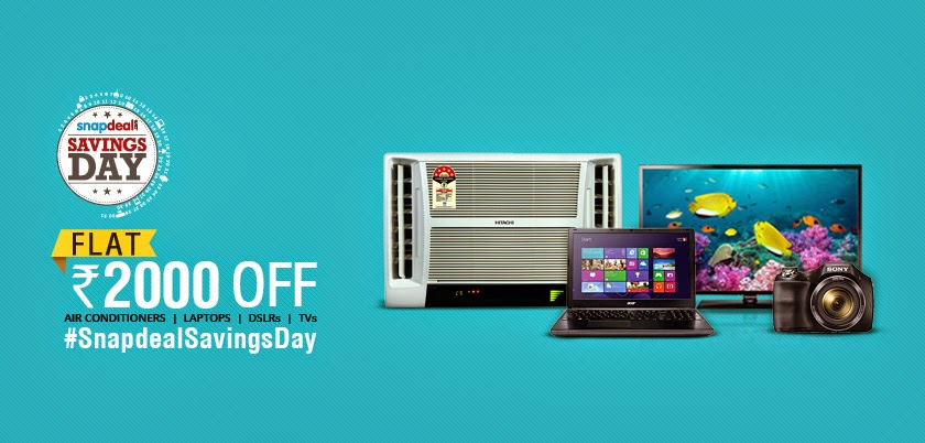 Snapdeal discount coupon for laptops
