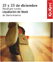 Kickers . Venta outlet temporal