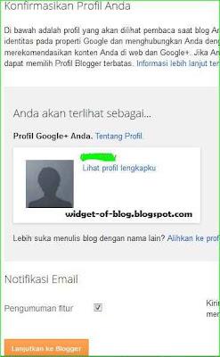 cara membuat akun dan mendaftar blogspot