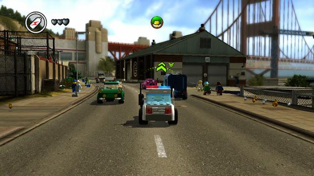 Screenshot of LEGO City: Undercover for Wii U