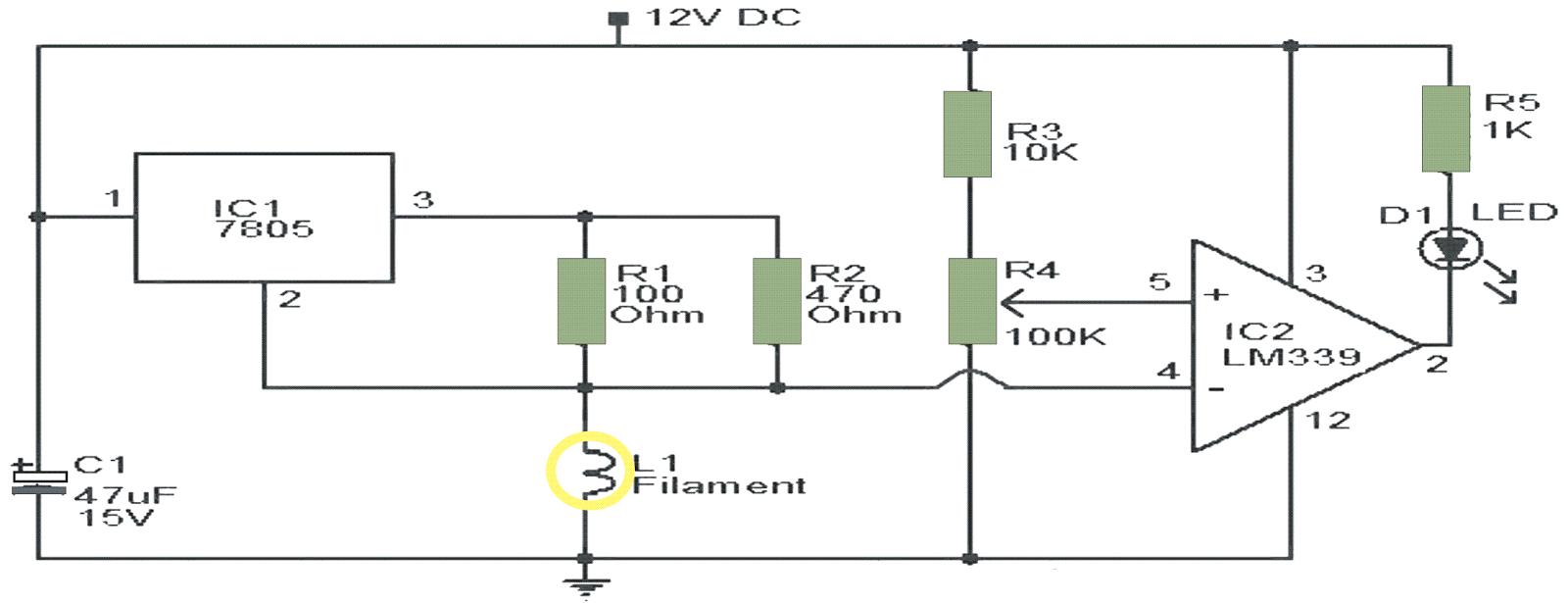 air flow detector circuit expert circuits rh expertcircuits blogspot com mass air flow sensor circuit diagram mass air flow sensor circuit diagram