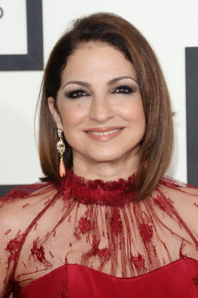 Gloria Estefan Mid-Length Bob Hairstyle