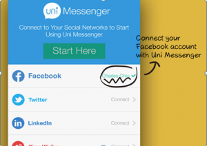 How to Chat Twitter Friends While Using Facebook Account
