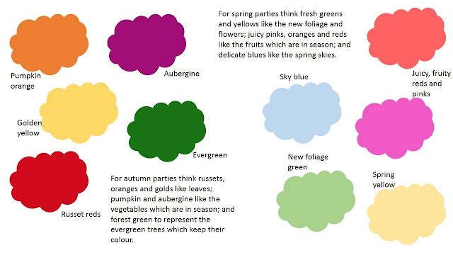 September party colours