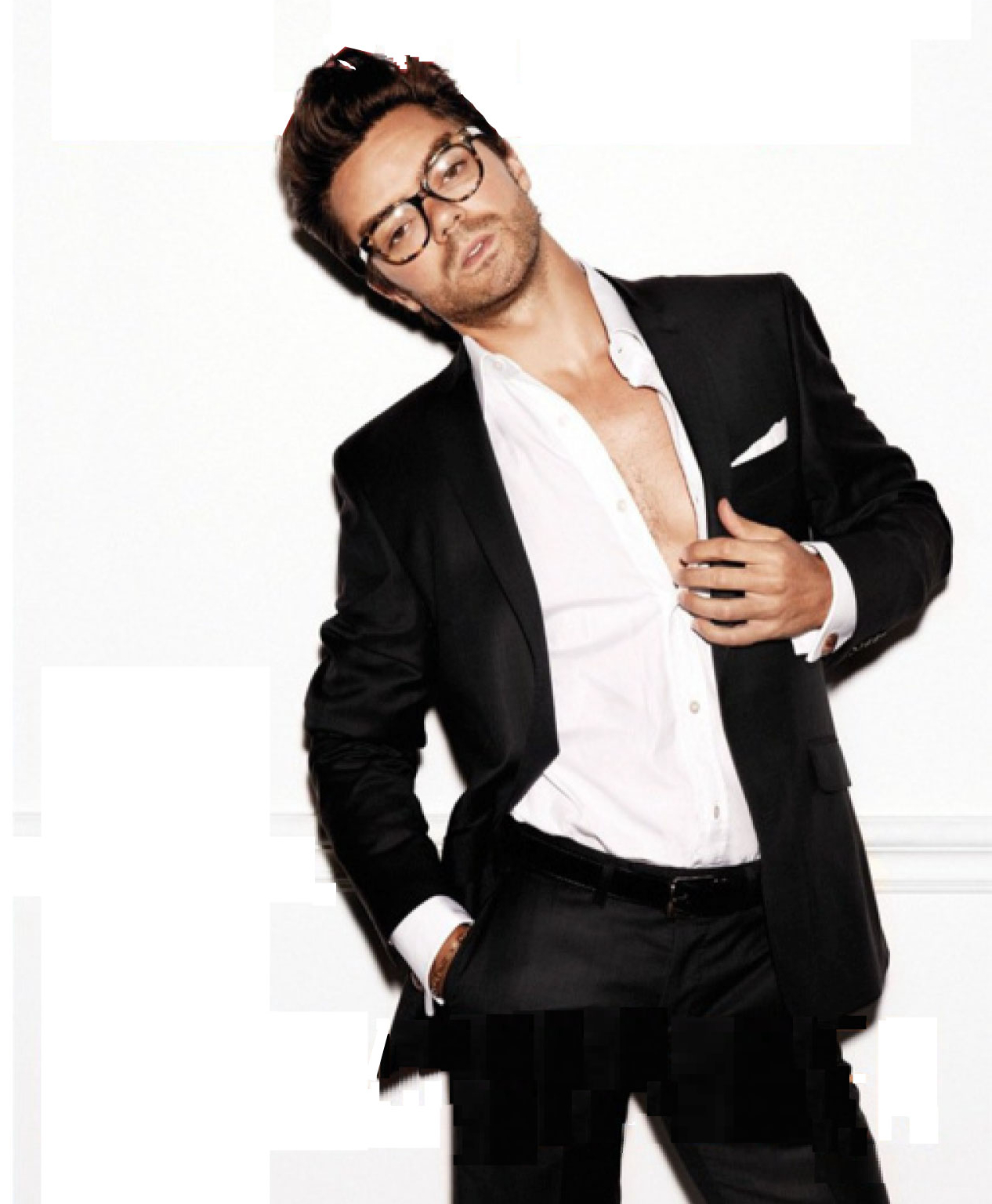 my new plaid pants: Dominic Cooper One Time
