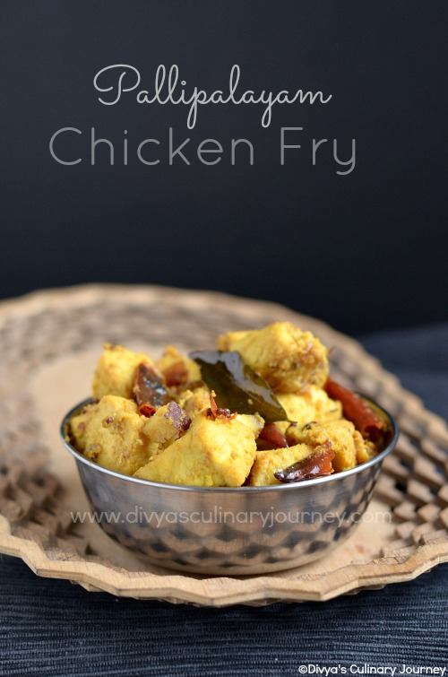 Chicken fry recipe made in Pallipalayam style