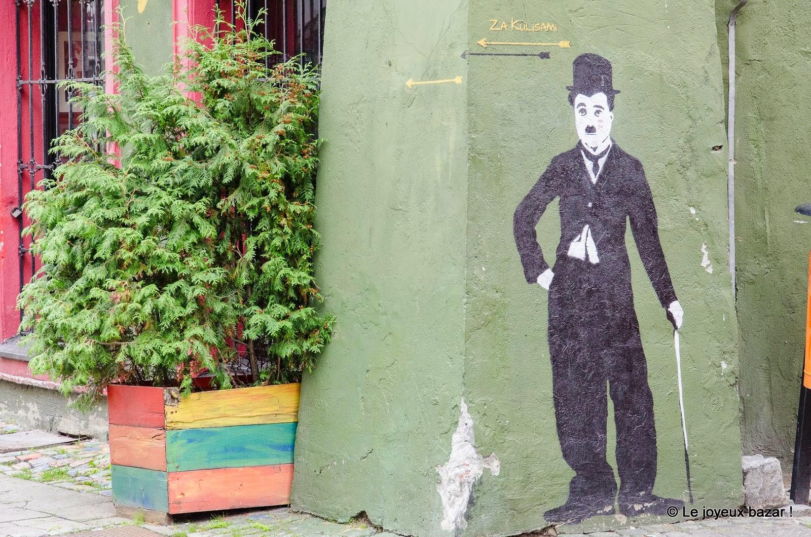 Poznan - street art - charlot
