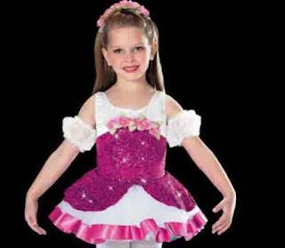 Baju Balet Anak Princess