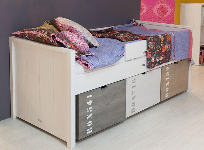 Piccolo 39 s decoraci n mobiliario infantil y juvenil - Cama con cajones abajo ...