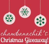 Chambanachik Giveaway