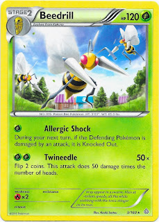 Beedrill Primal Clash Pokemon Card