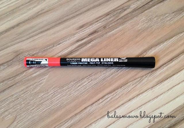 Bourjois: Eyeliner Mega Liner, nr 01 Dark black