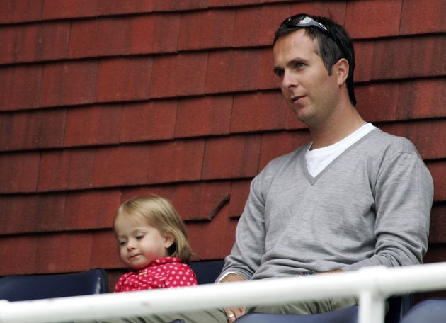 Michael Vaughan's daughter Talulah Grace